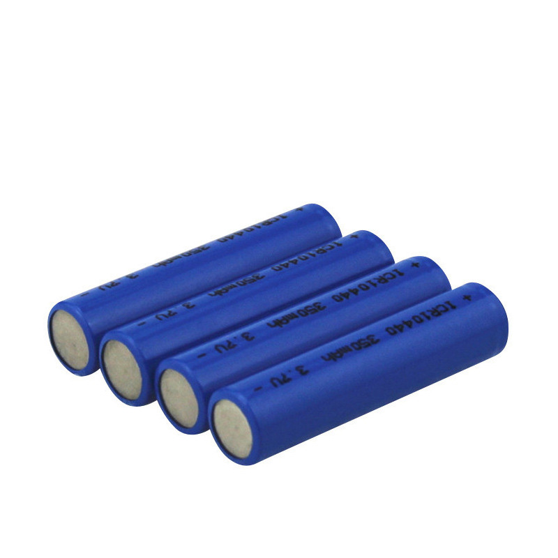 3.7v 350mah Rechargeable ICR 10440 Battery Lithium Batteries Replace For Primary Battery For Camera(China)