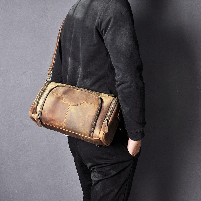 um ombro saco de livro escolar para homens B258-b