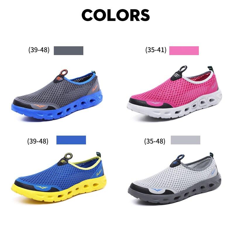 H2e02948912784b4da6e3f666e9e5d1f4Q UEXIA Big Plus Size Shoes Unisex Summer Sneakers Light Breathable Casual Shoes Couple Fashion Comfortable Mens Mesh Flats Shoe
