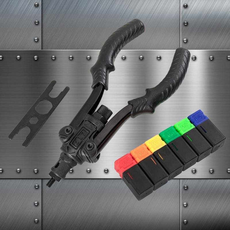 Prolonged Durable M3-M10 Electric Rivet Nail Gun Riveting Adapter For Cordless Drill Riveter Gun Skill Manufacture Drill Adapter