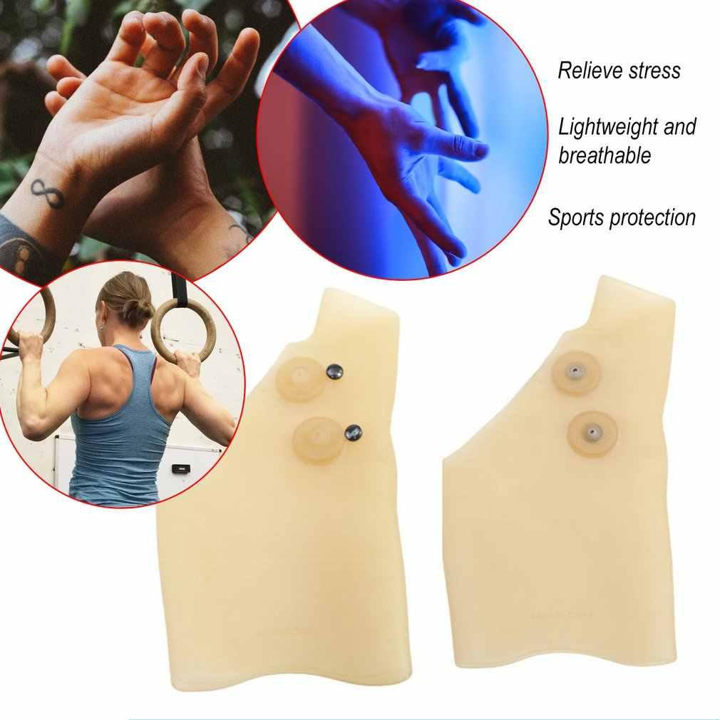 Listo para usar terapia magnética muñeca mano pulgar guantes de apoyo Gel de silicona artritis Corrector de presión masaje guante para alivio