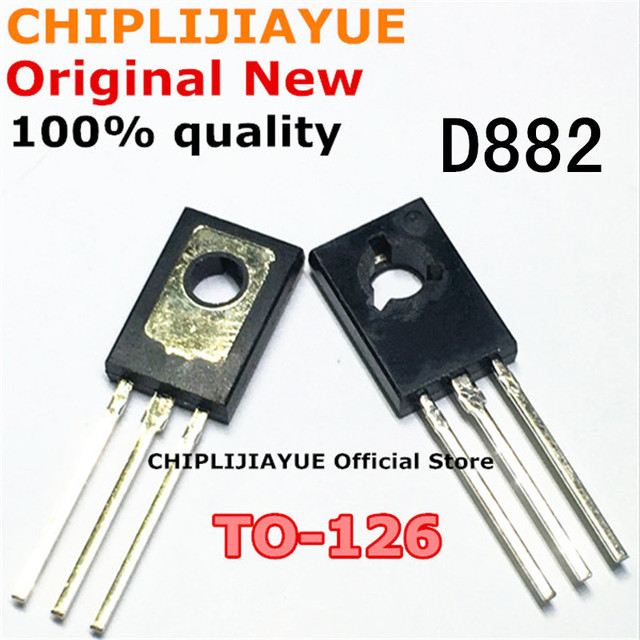 10PCS D882 TO126 2SD882 TO 126 882 New and Original IC Chipset