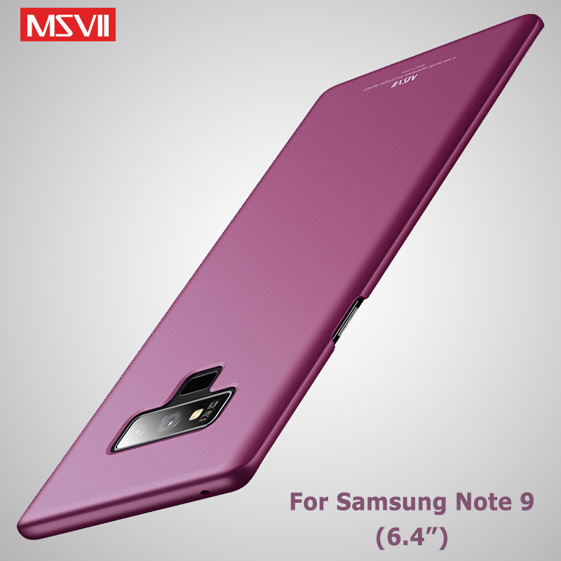 For Samsung Galaxy Note 9 Case Cover Msvii Matte Coque For Samsung Note 10 Note9 Case PC Cover For Samsung Note 8 9 10 Plus Case