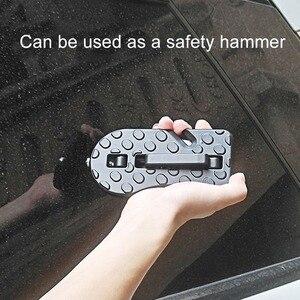 Image 3 - Uniwersalny samochód drzwi składany krok pomocniczy pedał dach Suv aluminium drzwi boczne hak do drzwi pedał łatwy dostęp akcesoria samochodowe