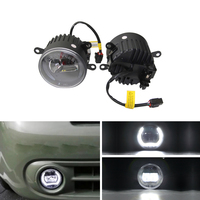 Xenon White Front Auto Car Led Fog Light Assembly W/ Guide Halo Ring DRL E4 CE For Benz Sprinter 208 515 06 12 Car Styling