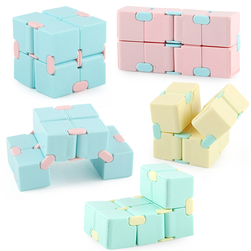 2021 Antistress Infinite Cube Infinity Cube Cube Office Flip Cubic Puzzle Stress Reliever Autism Toys Relax Toy For Adults Gift img2