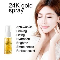 10/20/30/50ml 24K Gold Serum Oil Control Face Moisturizing Whitening Base Make Up Primer Pore Minimizer Skin Face Serum TSLM1