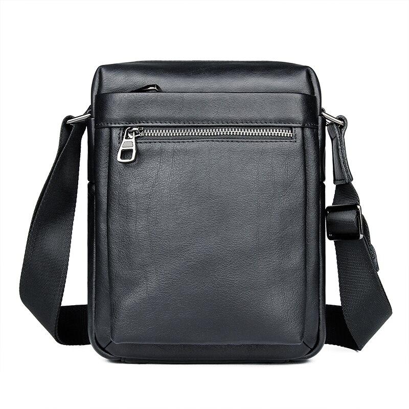 Sacs bandoulière sac à bandoulière pour hommes en cuir naturel Ipad sac petit sac hommes Messenger sac 1051A