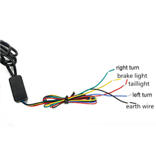 Lamp Strobe Light DC 12-24V 6500 k IP67 Auto 45cm Motorcycle Sequential LED