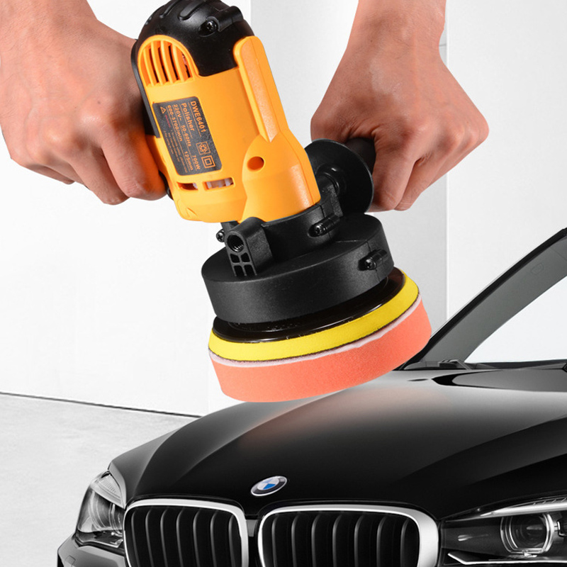 3600rpm 220v car polishing machine with Variable Speed Polisher 600W Auto Polishing Machine Adjustable Speed Sanding Waxing Too image