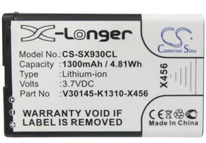 cameron sino 1300mah battery for SIEMENS Gigaset SL930 SL930A V30145-K1310-X456 Cordless Phone Battery(China)