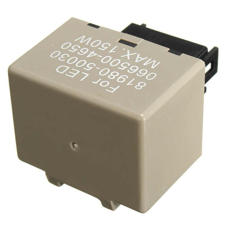 מתאים עבור טויוטה לקסוס רכב שונה LED נצנץ 8 פינים כפול פלאש היגוי בקר 81980