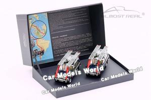 """Image 1 - Diecast Car Model Almost Real  """"The British Trans Americas Expedition"""" Edition 1:43 + SMALL GIFT!!!!"""