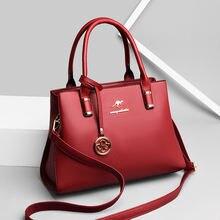 Дамские сумочки в стиле ретро из мягкой кожи однотонные сумки