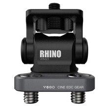 Vlogger M3 Chiave Regolabile DSLR Monitor Della Macchina Fotografica Ballhead HDMI Cavo di Clip di Rinoceronte di Smorzamento Regolabile Testa