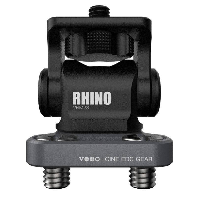 Vlogger M3 Wrench Adjustable DSLR Camera Monitor Ballhead HDMI Cable Clip Rhinoceros Adjustable Damping Head