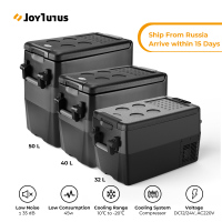 50L Portable Refrigerator Vehicle TurcK RV Boat Cooler 32L Mini Fridge Freezer Travel Home Use 12V 24V 220V 40L Car Compressor