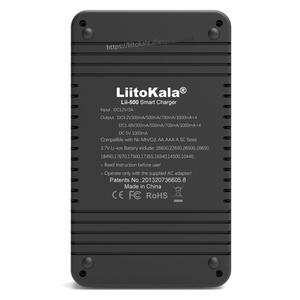 Image 4 - Liitokala Lii 500 Lii PD4 Lii 500S LCD 3.7V 18650 18350 18500 21700 20700B 20700 14500 26650 AA NiMH lityum pil şarj cihazı