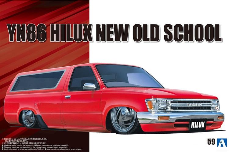 1/24 Toyota YN86 HILUX NEW OLD SCHOOL'95 05700