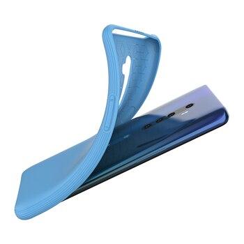 Перейти на Алиэкспресс и купить Милый чехол для телефона OPPO Reno 2 2Z 2F, ультратонкая мягкая Жидкая силиконовая задняя крышка Reno2 Z F, Модный чехол для девочки