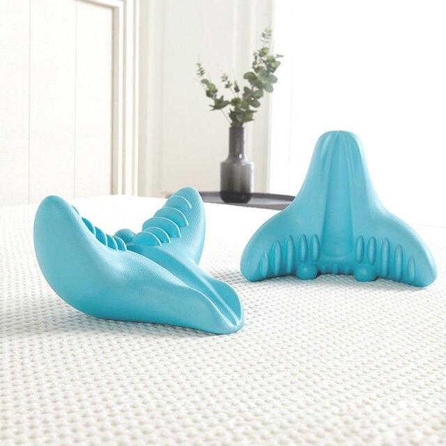 Neck Massager Relaxation Pillow Portable Gravity Acupressure Massage Pillow  Neck Cervical Shoulder Pain Relief Tool 3