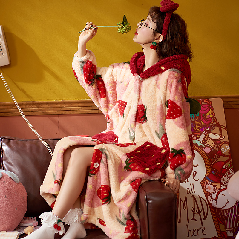Kawaii Cozy Winter Nightgown 2
