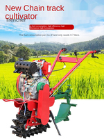 Oruga de gestión Pastoral, Micro-cultivador, multifunción, pequeño, diésel, herramientas de maquinaria agrícola