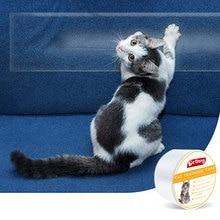 Антицарапина Безопасный инструмент для домашних животных дверь кошка тренировочная лента диван защитный уголок для мебели ПВХ клейкие поверхности