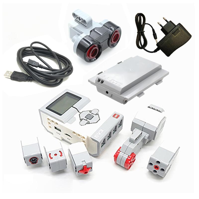 For Logoinglys Technic Mindstorms EV3 45500 PF Parts Lithium Battery 95646c01 95656 DIY Educational Building Blocks Toys Parts
