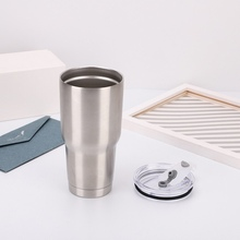 1PC Water Bottle Portable Stainless Steel Large Capacity Insulated Car Outdoor Sports with Cup Cover