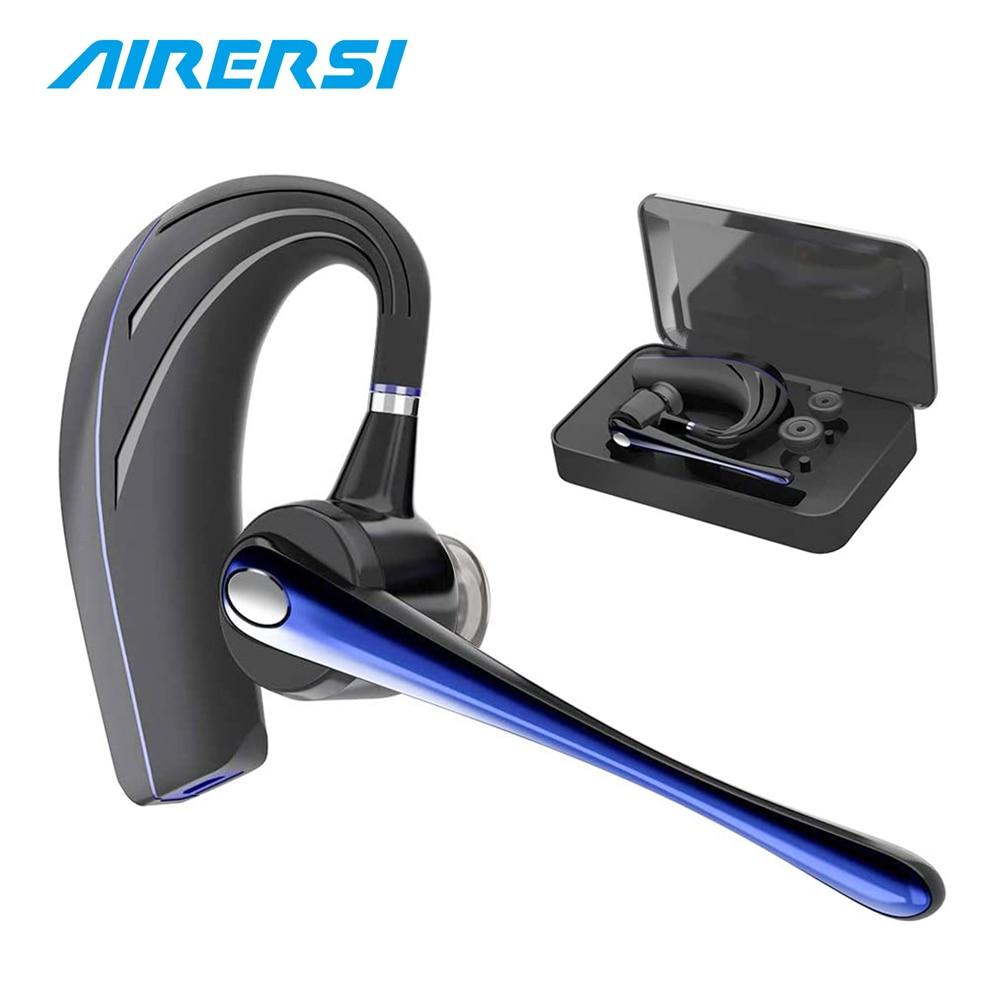 2020 Newest Business Bluetooth Earphone Wireless Headphones Stereo HandsFree Noise Reduction Bluetooth Headset for Car Driving|Bluetooth Earphones & Headphones| - AliExpress
