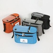 Baby Stroller Storage Bag Multipurpose Large Capacity Handbag Mummy Bag Hanging Basket Baby Carriage Multiple Pockets Mummy Bag