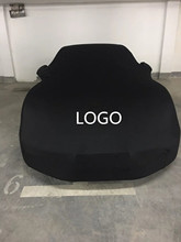 Indoor Stretch Car Cover Original Fabric Customization Velvet Fabric General Fabric for Car Beauty Shop Surface Protector cheap JUNXIANHESHUN Does Not Damage The Paint 3 5kgkgkgkg