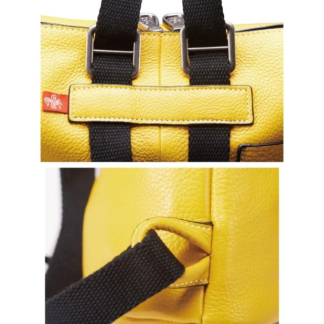 Orabird luxo couro de vaca casual mulheres mochila multifuncional grande capacidade macio senhora bagpack moda meninas cidade crossbody saco 3