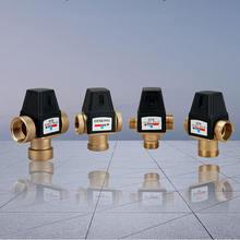 Латунный термостатический водяной смесительный клапан для солнечной