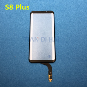 Image 3 - Tp Touch Screen Voor Samsung Galaxy Note 8 SM N950F S8 Plus S8 + S7 Rand S6 Rand Digitizer Panel Glas lens Sensor Vervanging