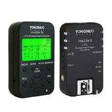 YONGNUO YN622N II YN622N TX YN622N zestaw i tll bezprzewodowa lampa błyskowa wyzwalacz Transceiver dla aparat nikon dla Yongnuo YN565 YN568 Flash