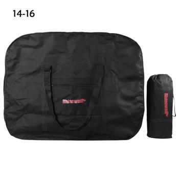 20/14/16 Inch RHINOWALK Folding Bicycle Storage Bag Loading Bag Waterproof Storage Saddle Bag Seat Cycling Tail Rear Accessories