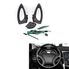 Steering Wheel Cruise Bluetooth Audio Remote Control Switch Trip Music Button DIY for Hyundai Sonata YF I45 964403S000