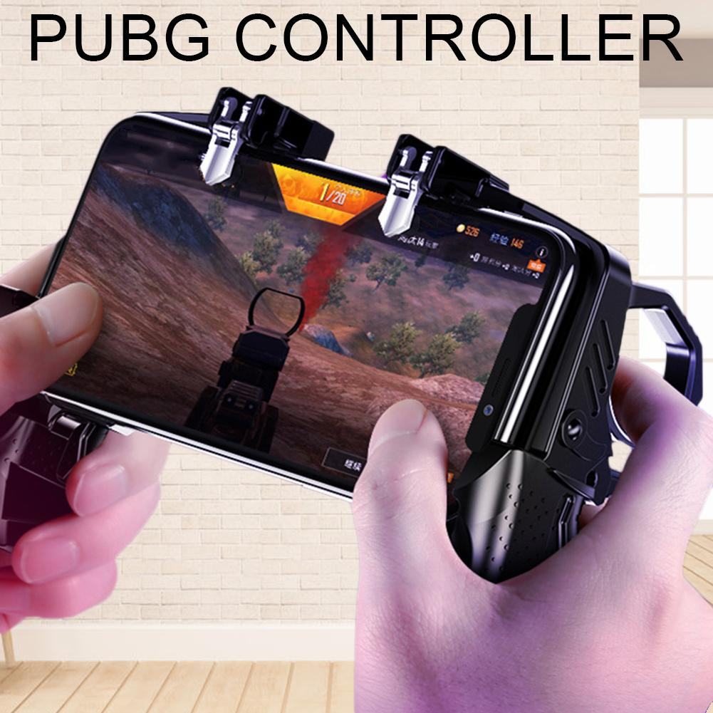 Gamer Helper Four Finger Gamepad Handle Fast Shooting Controller for PUBG Rules Of Survival Game Trigger Joystick Gaming Tools