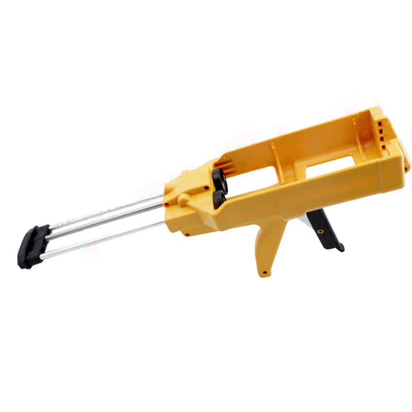Manual Applicator Gun Dual Component Adhesive Cartridge Applicator Double Caulking Gun For Tile Construction Tools Yellow