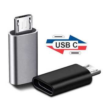 micro usb otg adapter micro usb to usb type c adapter for xiaomi huawei samsung