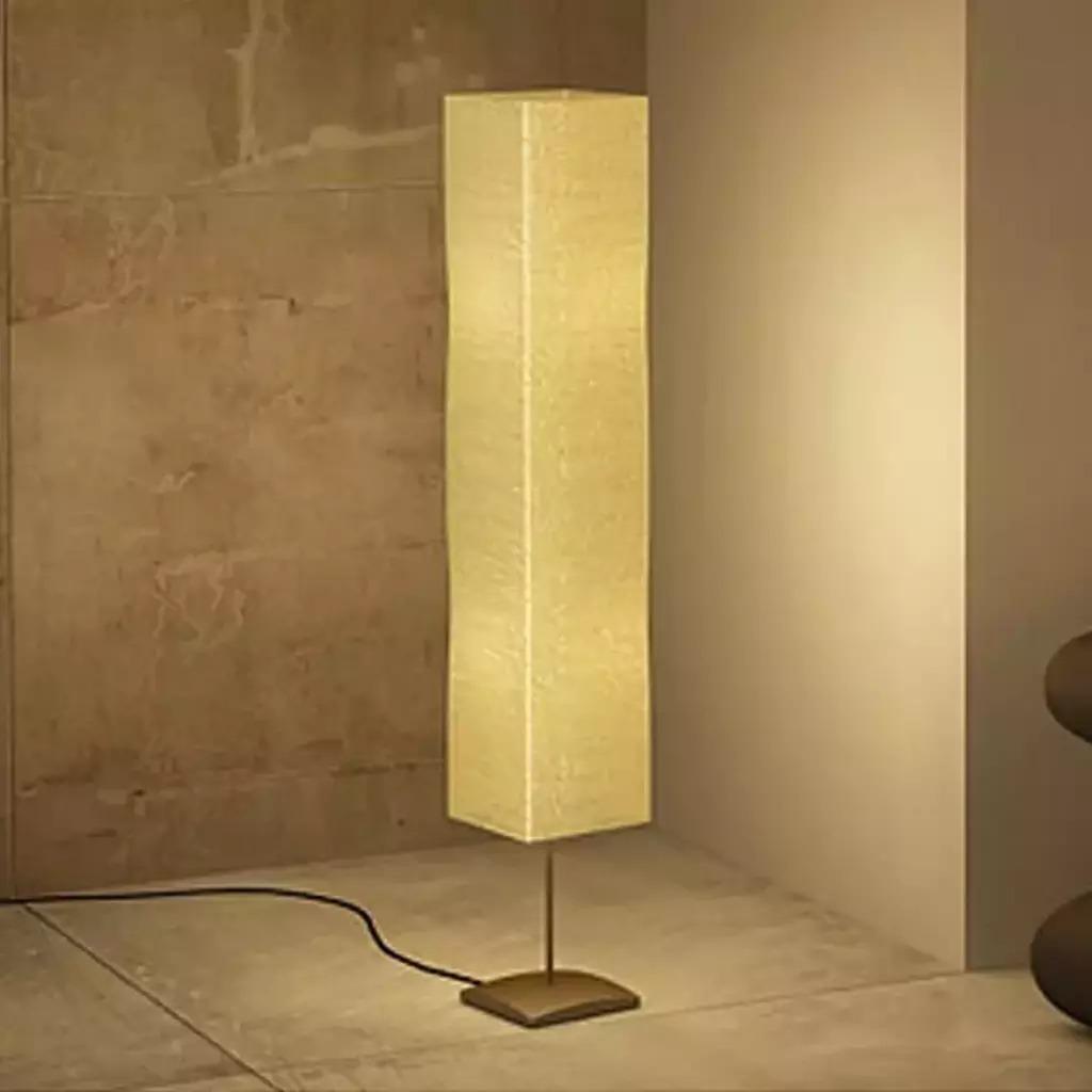 VidaXL Modern Nordic Floor Lights LED Decorative Living Room Standing Lamp 135cm Alu Cream brushed aluminum bedroom Led V3