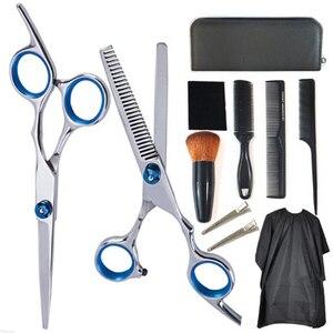 Professional Hairdressing Scissors Kit Hair Cutting Scissor Set Hair Scissors Barber Scissors Hairdresser Tool Salon Accessories