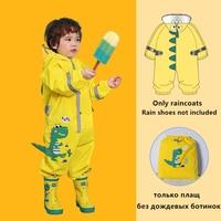 Cartoon Einhorn Wasserdichte Regenmantel Für Kinder Kinder Baby Regen Mantel Poncho Jungen Mädchen Grundschüler Siamese Regen Anzug