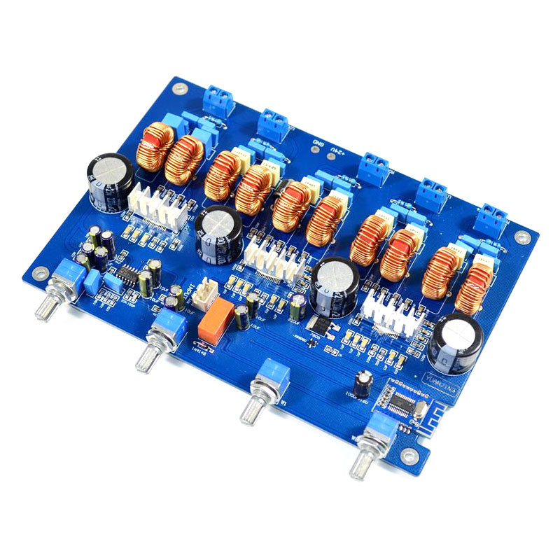 ABHU Tpa3116 Bluetooth 4.2 Audio Board 4.1 Channel Digital Class D Amplifier 4x50W+100W Audio 24V Car Subwoofer|Operational Amplifier Chips| |  - title=