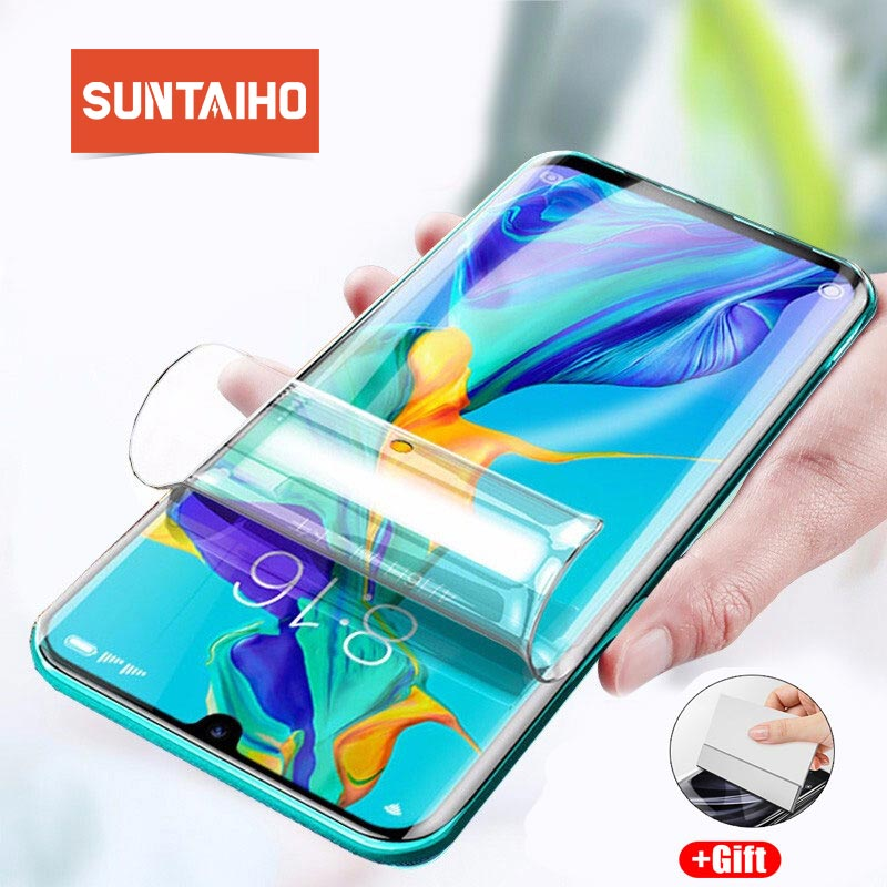 Hydrogel Protective Film For <font><b>Huawei</b></font> P20 P30 <font><b>Pro</b></font> <font><b>Mate</b></font> <font><b>20</b></font> 10 <font><b>Pro</b></font> Nova4 5 Screen Protector Film For <font><b>Huawei</b></font> Mate30Pro Film Not <font><b>Glass</b></font> image