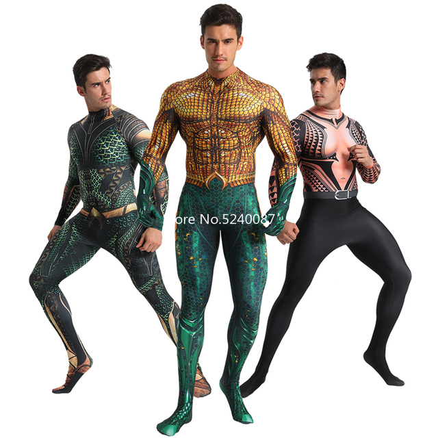 Halloween Men Cosplay Costume Zentai Bodysuit Jumpsuit Carnival Muscle Outfits
