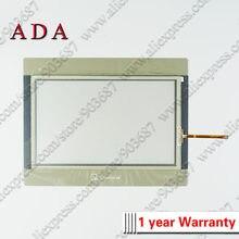 Digitador de vidro do painel da tela de toque para weinview mt8101ie mt8101ie1wv mt8101 ie touchscreen e película protetora de sobreposição dianteira