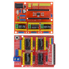 CNC Schild V3/CNC Schild V4 Gravur Maschine/3D Drucker/A4988 Treiber Expansion Board für arduino Diy kit(China)
